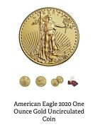 Andnbspamerican Eagle Coin 50 2020 One Ounce Uncirculated