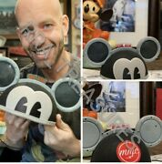 Disney Parks Designer Ears Mickey Mouse Light And Sound Ear Hat Bret Iwan Preorder