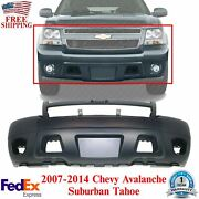 Front Bumper Cover Primed For 2007 - 2014 Chevrolet Avalanche Suburban Tahoe