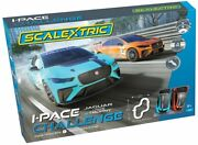 Scalextric I-pace Challenge C1401t 1/32 Slot Car Set- 15.8and039 Track- 4 Tracks