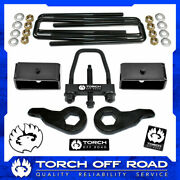 3 Front 2 Rear Leveling Lift Kit 1988-1999 Chevy Gmc K2500 K3500 4x4 W Tool