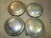 4 Vintage Ih International Harvester 1941 1942 Kb 5 Ihc Truck Hubcap Hub Cap 47