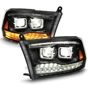 111464 Anzo Headlight Lamp Driver And Passenger Side New For Ram Truck Lh Rh 1500