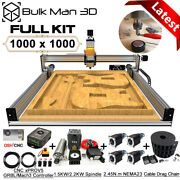 1010 Lead Cnc Router Machine Full Kit 4 Axis Precise Wood Router Engraver Mill