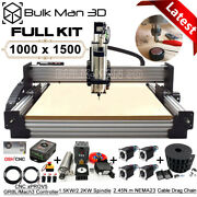 1015 Work-bee Cnc Router Machine Full Kit 4 Axis Wood Cnc Router Engraver Mill