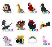 Choose Any Fly Ride Neon Pet Toy Vehicle Roblox Adopt Me
