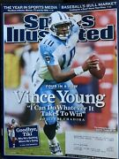 2006 Sports Illustrated Tennessee Titans Qb Vince Young Subscription Issue