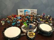 Wii Skylanders Bundle Including Portals, Disks, Trap Items, And Lots Of Characters