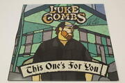 Luke Combs Signed Autograph Album Vinyl Record - This Oneand039s For You Country Star
