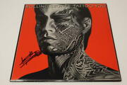 Keith Richards Signed Autograph Album Record Rolling Stone Tattoo You - Real Coa