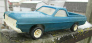 Tonka Vintage Ford Ranchero, Plastic Toy Vehicle For Car Carrier Parts Car As Is