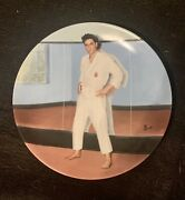 Elvis Presley Collector Plate Going For The Black Belt Looking At A Legend 12