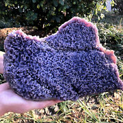 Great Rare Raw Natural Purple Grape Agate Cluster Crystal Mineral Specimen 7.7lb
