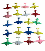 Vintage Small Plastic Airplanes Toy Planes Lot Of 20 Made In China