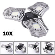 10x 60w E27 Deformable High Bay Ufo Led Light Industrial Warehouse Mining Lamp