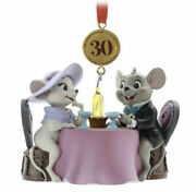 Disney 2020 The Rescuers 30th Legacy Sketchbook Christmas Ornament New