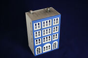 4 Story Office Commercial Building N Scale Hand Painted Detailed Weathered New