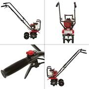 9 In. 25 Cc 4-cycle Middle Tine Forward-rotating Gas Mini Tiller-cultivator