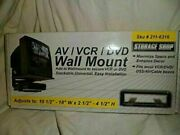 Av/vcr/dvd Wall Mount Stackable And Universal