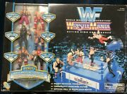 Wwf Wrestlemania Action Ring And Figures Set By Jakks Vintage Unopend Rare F/s