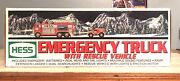 2005 Hess Truck Hess Emergency Truck With Rescue Vehicle In Box New
