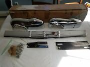 Nos Gm Pontiac 1953 Master Guard Bumper Grille Guard Assembly, Front 984749