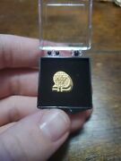 Waffle House 10k Gold Filled 1 Year Service Pin