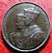 Great Britain Coronation Of King Georges Vi And Queen Elizabeth 12 May 1937 Medal