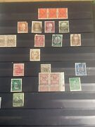 German Stamp Collection In Album 1900 To Wwii Nazi Etc