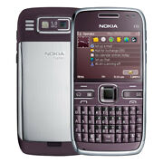 New Nokia E72-1 250mb Qwerty Purple Factory Unlocked Collectors Item 3g Gsm