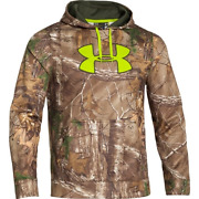 Under Armour Ua Large Lg Infrared Fleece Hunting Hoodie Realtree Xtra Hunt Camo