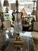 Beautiful Waterford Table Lamp