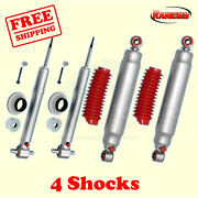 Rs9000xl Frontandrear 4 Lift Shocks For Chevy Tahoe 2wd 07-14 Kit 4 Rancho