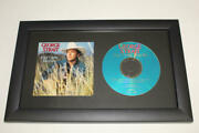 George Strait Signed Autograph Easy Come, Easy Go Framed Cd Display - Country