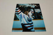 Wayne Gretzky Signed Autograph 8x10 Photo - The Great One Holding Stanley Cup