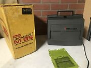 Vintage Used Kodak Instamatic M85 Super 8 Projector For Parts Old Untested