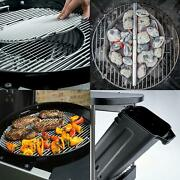 22 In. Performer Premium Charcoal Grill In Black With Built-in Thermometer And