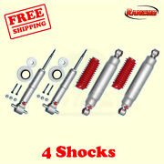 Rs9000xl Frontandrear 0 Lift Shocks For Chevy Tahoe 2wd 07-14 Kit 4 Rancho