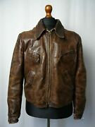 Leather 30s Ww2 Cow Hide German Luftwaffe Officers Leather Jacket 50 Colors