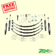 4 Front And Rear Suspension Lift Kit For Jeep Jeep Jeep Yj 1987-1995 Zone