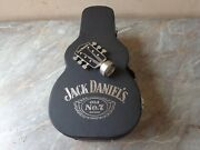 Whisky Jack Daniels Limited Edition Collectable Guitar Case Box Bottle Stopper