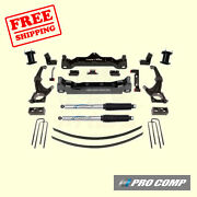 6 Lift Kit W/front Spacers/rear Pro Runner Shocks 16-18 Toyota Tacoma Pro Comp