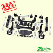 4 Front And Rear Suspension Lift Kit Fits Dodge Ram 1500 4wd 2009-2012 Zone