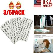 3/6pcs Steam Mop Pads Replacement For Shark Vacuum S1000 S1000a S1000c S1000wm