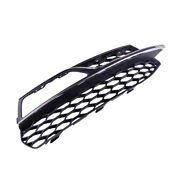Front Right Bumper Lower Fog Light Grille Cover Chrome Fit For Audi S3 A3 S-line