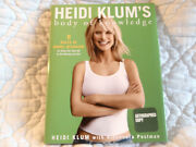 Heidi Klum's Body Of Knowledge Signed Coffee Table Book 1st Hardcover Supermodel
