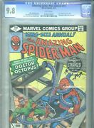 Amazing Spider-man Annual 13, Marvel, 1979, White Pages, Cgc 9.8