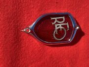 1934 - 1936 Reo Fiying Cloud Tail Light Bezel And Glass Plated For Show