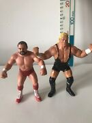 Wwf Wwe Wcw Galoob Arn Anderson Red Trunks Wrestling Action Figure And Sid