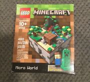 New Lego Minecraft 21102 Micro World 480 Pieces Sealed Forest Cuusoo 003
